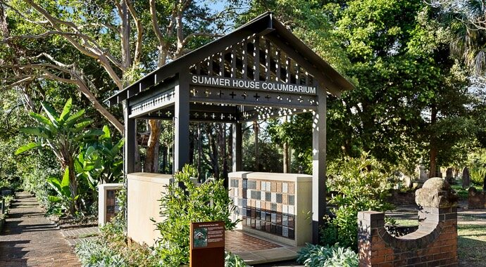 Gore Hill - Summer House Columbarium